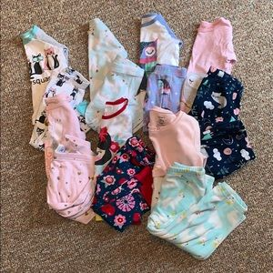 Other - Girls pajamas 12-18 mo assorted